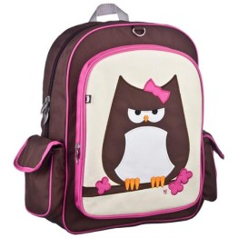 Beatrix New York Big Kid Backpack ~ Owl Papar 1