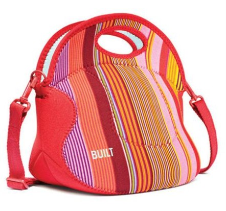 Built ~ Spicy Relish Lunch Tote ~ Nolita Stripe 1