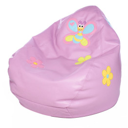 Missi Missi Bean Bag Violet with Butterfly