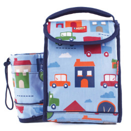 Penny Scallan Backpack Lunch Box Big City