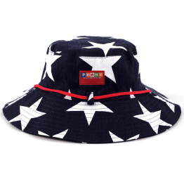Penny Scallan Hat Navy Star
