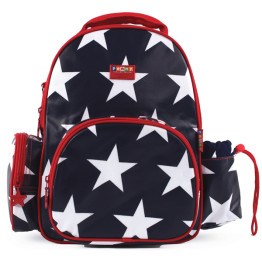 Penny Scallan Medium Backpack Navy Star