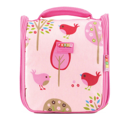 Penny Scallan Toiletry Bag Chirpy Bird