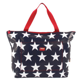 Penny Scallan Tote Bag Navy Star