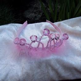 Pink Crystal Tiara 1
