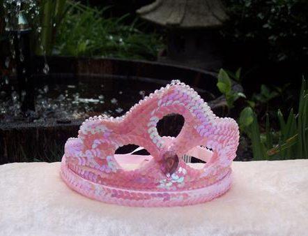 Pink Sequin Crown 1