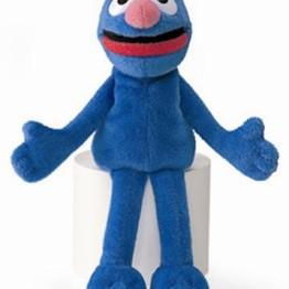 Sesame Street Beanie Toy ~ Grover 1