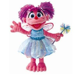 Sesame Street Soft Toy ~ Abby Cadabby 30cm 1