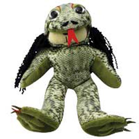 a4ae05d9e77 Product Description. Zhimor the Swamp Monster is a genuine Skansen Beanie  Kid.
