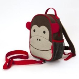 Skip Hop Mini Backpack with Harness ~ Monkey 1