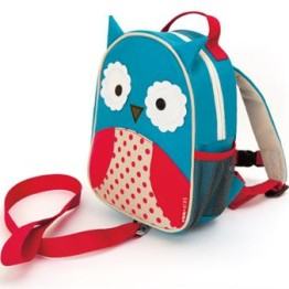 Skip Hop Mini Backpack with Harness ~ Owl 1