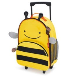 Skip Hop Zoo Kids Wheelie Bag ~ Bee 1