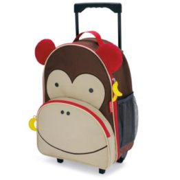 Skip Hop Zoo Kids Wheelie Bag ~ Monkey 1