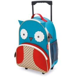 Skip Hop Zoo Kids Wheelie Bag ~ Owl 1