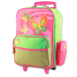 Stephen Joseph Wheelie Bag Butterfly