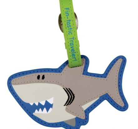 Stephen Joseph Shark Bag Tag