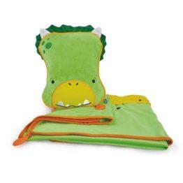 Trunki SnooziHedz 3 in1 Travel Blanket Dudley Dino 1