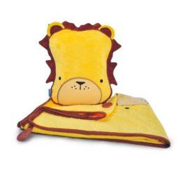 Trunki SnooziHedz 3 in1 Travel Blanket Leeroy Lion 1
