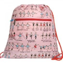 Tyrrell Katz Drawstring Bag ~ Ballet 1