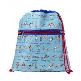 Tyrrell Katz Drawstring Bag ~ Swimming 1