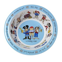 Tyrrell Katz Melamine Bowl ~ Pirates 1