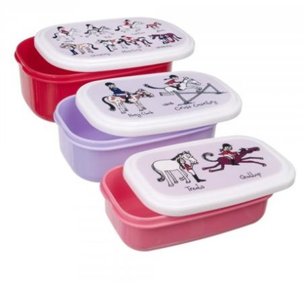 Tyrrell Katz Snack Boxes ~ Horse Riding 1