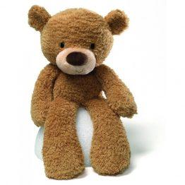 GUND Fuzzy Beige Bear Soft Toy