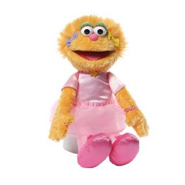 Sesame Street Soft Toy Zoe Ballerina