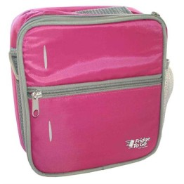 Fridge To Go Small Lunch Box Cooler Bag ~ Pink 1