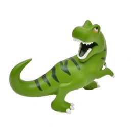 Bobble Art Dinosaur Resin Money Box