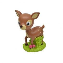 Bobble Art Woodland Resin Money Box