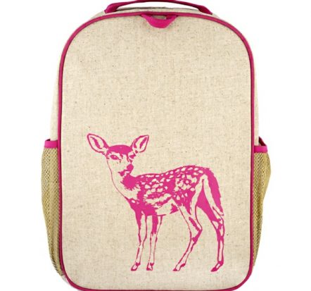 SoYoung Grade School Backpack ~ Pink Fawn