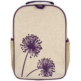 SoYoung Grade School Backpack ~ Purple Dandelion