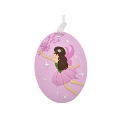 Bobble Art Fairy Bag Tag