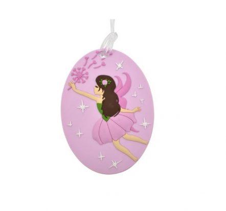 Bobble Art Fairy Bag Tag