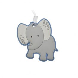 Bobble Art Safari Elephant Bag Tag