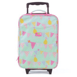 Penny Scallan Pineapple Bunting Wheelie Bag