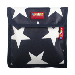 Penny Scallan Snack Bag Navy Star