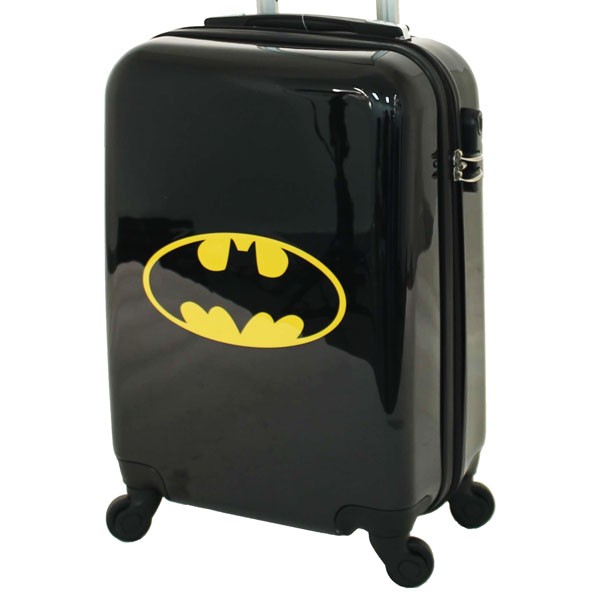 Batman DC Comics Hard Shell 19 Inch Suitcase - Kids Bags