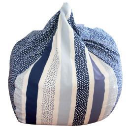 Lelbys-Navy-Stripy-Dots-Bean-Bag