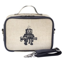 SoYoung Grey Robot Lunch Box