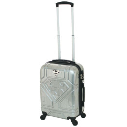 Superman Cabin Luggage Silver