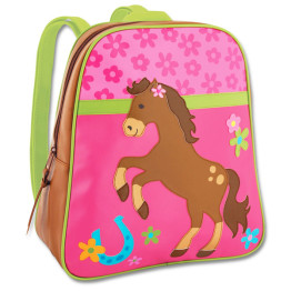 Stephen Joseph Backpack Girl Horse