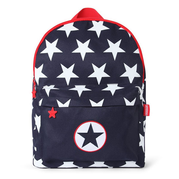 9599ac544c Product Description. This very cool Penny Scallan Bare Collection Navy Star  Large Backpack ...