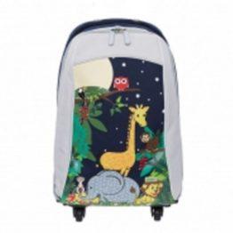 Bobble Art Jungle Cabin Luggage