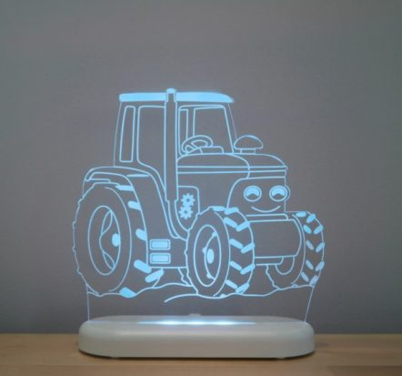 Aloka Tractor LED Sleepy Light USB Night Light with Remote