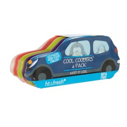 Fit & Fresh Car Ice Coolers - 4 Pack