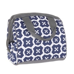 Fit & Fresh Cooler Bag Charlotte Navy Tile