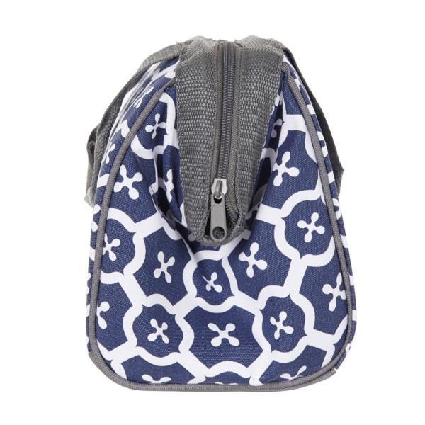 Fit Amp Fresh Insulated Cooler Bag Charlotte Navy Tile