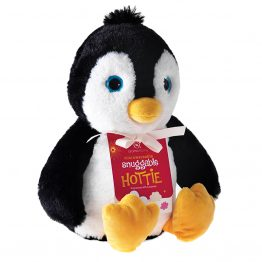 aroma home penguin-snuggable-hottie